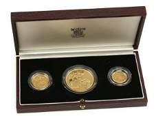 UNITED KINGDOM 1984 GOLD PROOF COLLECTION 18OZ