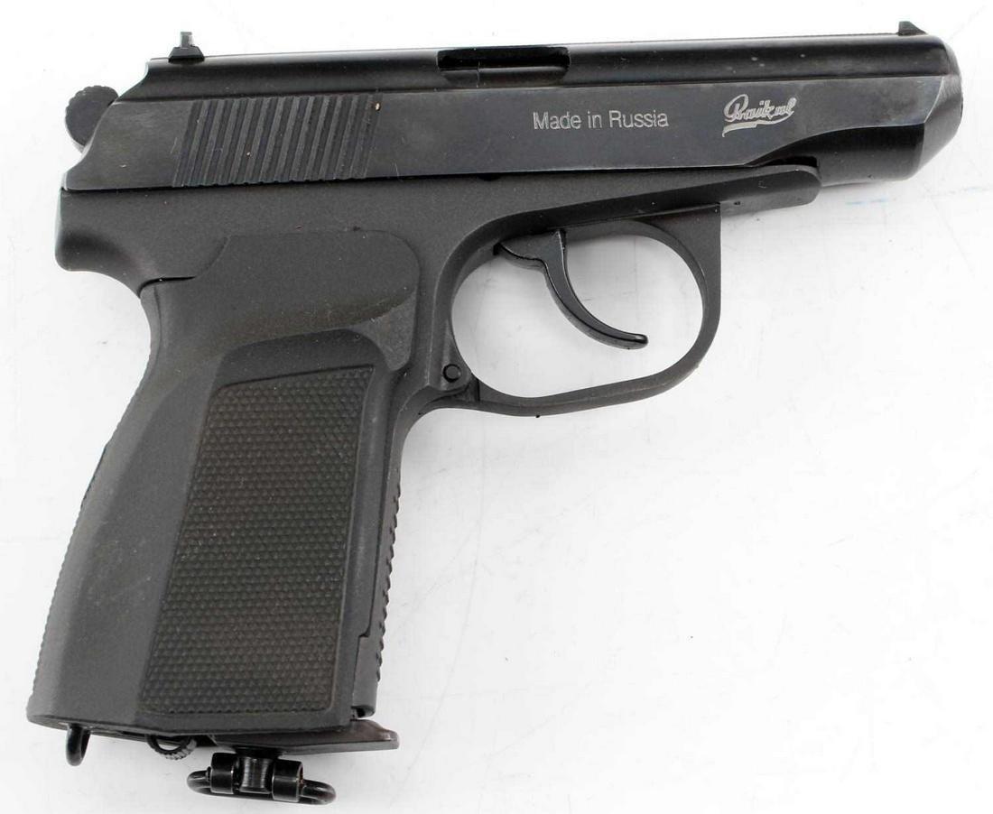 BAIKAL MP-654K BB CO2 PISTOL 4.5MM W MANUAL & CASE