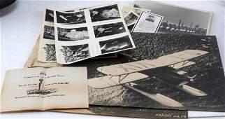 WWII GERMAN THIRD REICH SS & OTHER PHOTO EPHEMERA