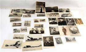 WWII GERMAN THIRD REICH PHOTOGRAPH & POSTCARD LOT
