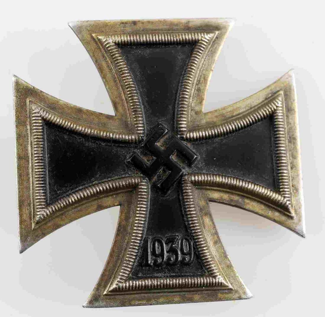 WWII GERMAN THIRD REICH IRON CROSS FIRST CLASS