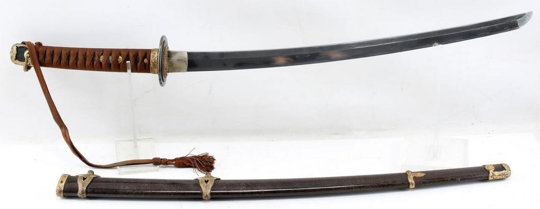 17TH CENTURY JAPANESE WAKIZASHI SAMURAI SWORD