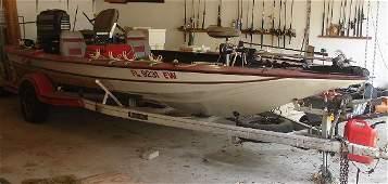 STORM BASS FISHING BOAT 21 MERCURY OUTBOARD