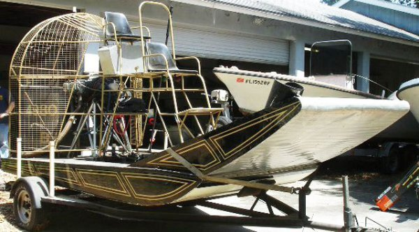 AIR BOAT LYCOMING ENGINE 2 SEATER W/ TRAILER