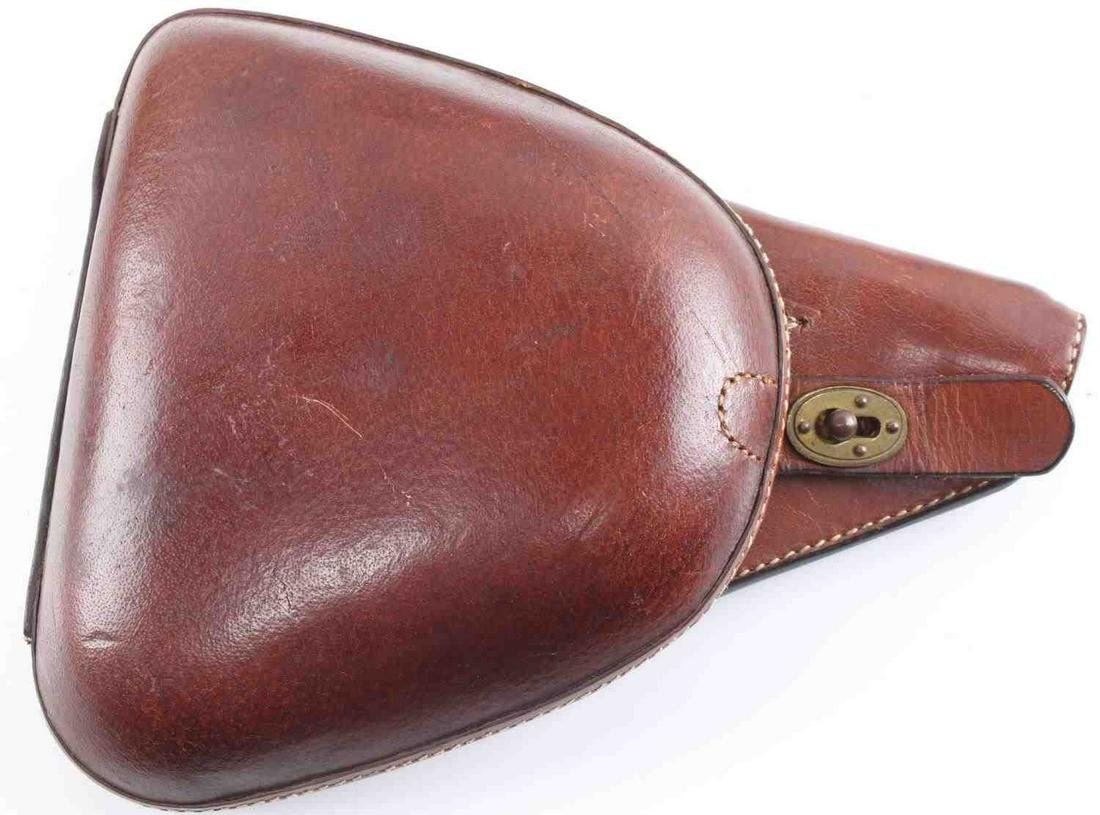 WWII JAPANESE NAMBU TYPE 14 LEATHER HOLSTER