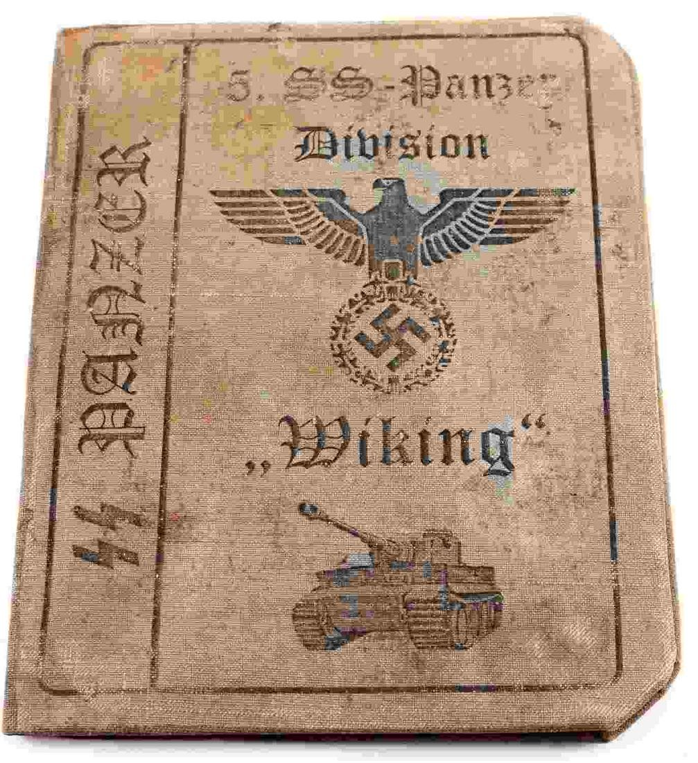 WWII THIRD REICH SS KNIGHTS CROSS OFFICER ID BOOK