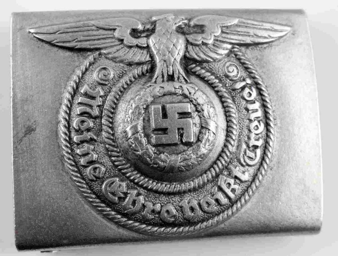 WWII GERMAN THIRD REICH WAFFEN SS ENLISTED BUCKLE