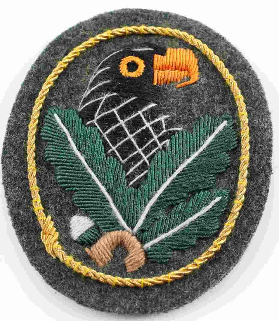 GERMAN WWII ARMY SNIPER EAGLE SLEEVE BADGE