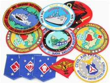 MULTI CONFLICT US MILITARY PATCHES LOT OF ELEVEN