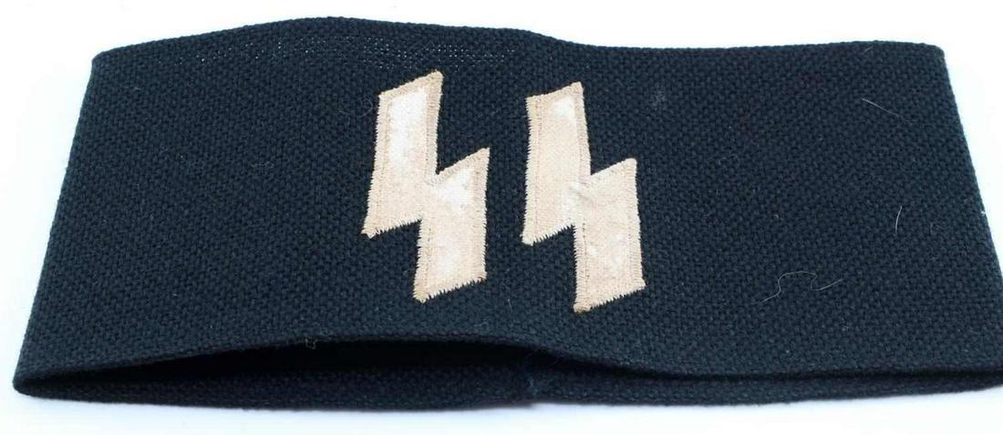 WWII THIRD REICH SS SCHUTZ STAFFEL ARM BAND