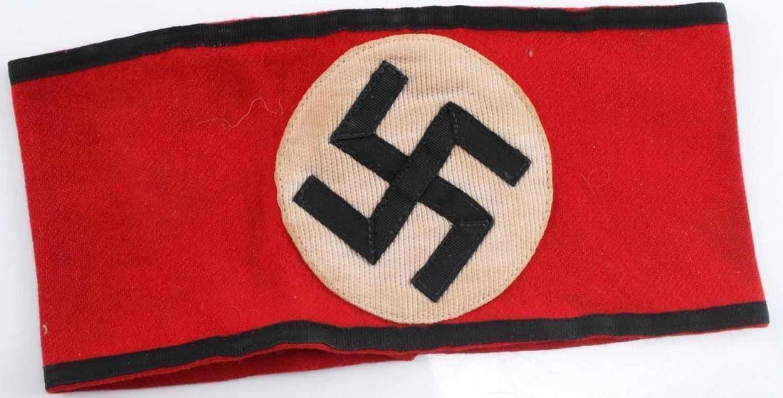 WWII THIRD REICH SS SCHUTZ STAFFEL ARMBAND