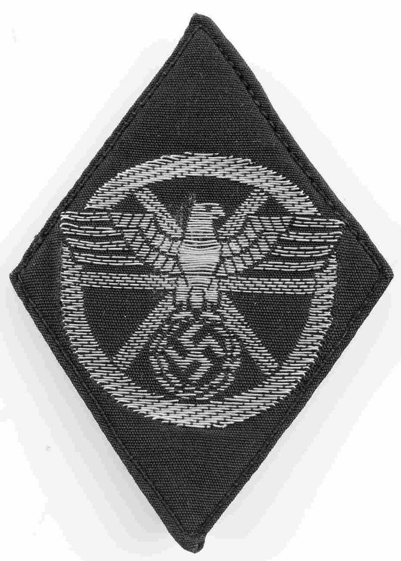 WWII GERMAN THIRD REICH NSKK OFFICER SLEEVE PATCH