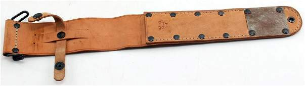 WWII US ARMY M6 COMBAT FIGHTING KNIFE SCABBARD