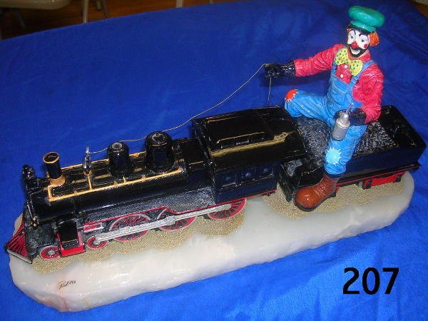 30207: RON LEE CHATTANOOGA CHOO-CHOO L-374 CLOWN TRAIN