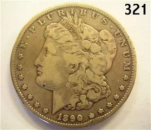 US CARSON CITY MORGAN DOLLAR 1890 F