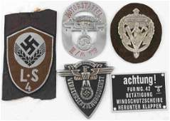 WWII THIRD REICH RAJD PATCH SA & NSKK SLEEVE