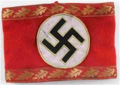 WWII GERMAN THIRD REICH NSDAP GAU ARMBAND