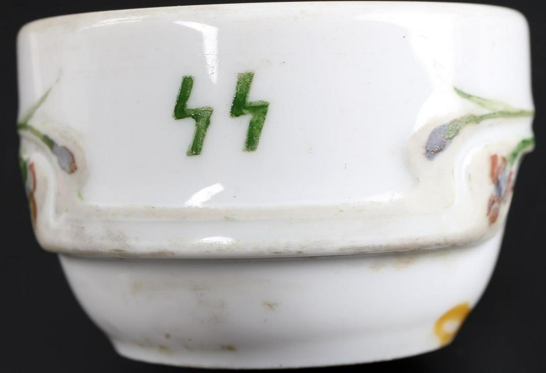 WWII GERMAN THIRD REICH PORCELAIN SALT CONTAINER