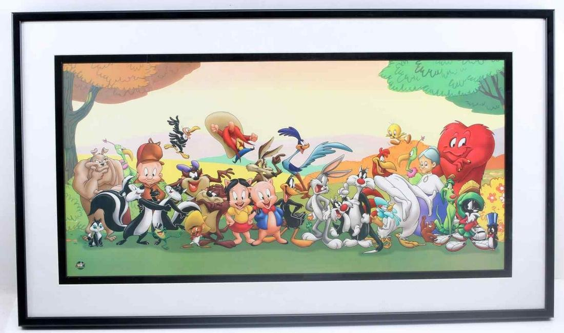 WARNER BROTHERS GANG SERIOLITHOGRAPH ON PAPER
