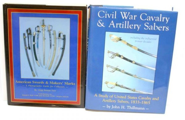 BOOKS - AMERICAN SWORDS & MAKER MARKS PLUS ANOTHER