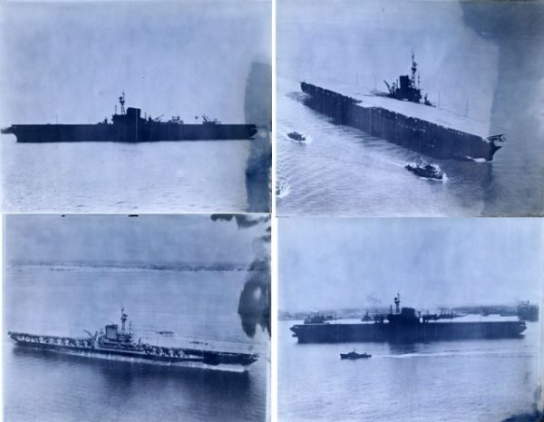 4 ORIGINAL WWII US NAVY ID PHOTO NEGATIVES