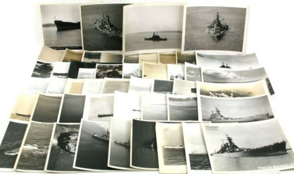 50 OFFICIAL US NAVY WWII ID SPOTTER PHOTOS