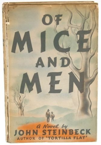 FIRST EDITION OF MICE & MEN JOHN STEINBECK