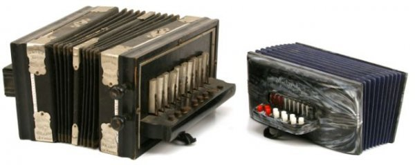 LOT OF 2 VINTAGE ACCORDIONS