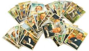 US PRESIDENTS 1956 TOPPS 36 CARDS SET