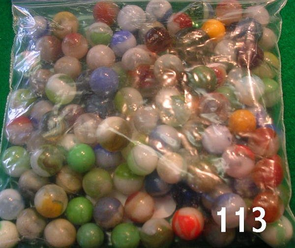 50113: ANTIQUE MARBLE LOT GOOD VARIETY