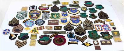 US MILITARY STATE POLICE MULTI CONFLICT PATCH LOT