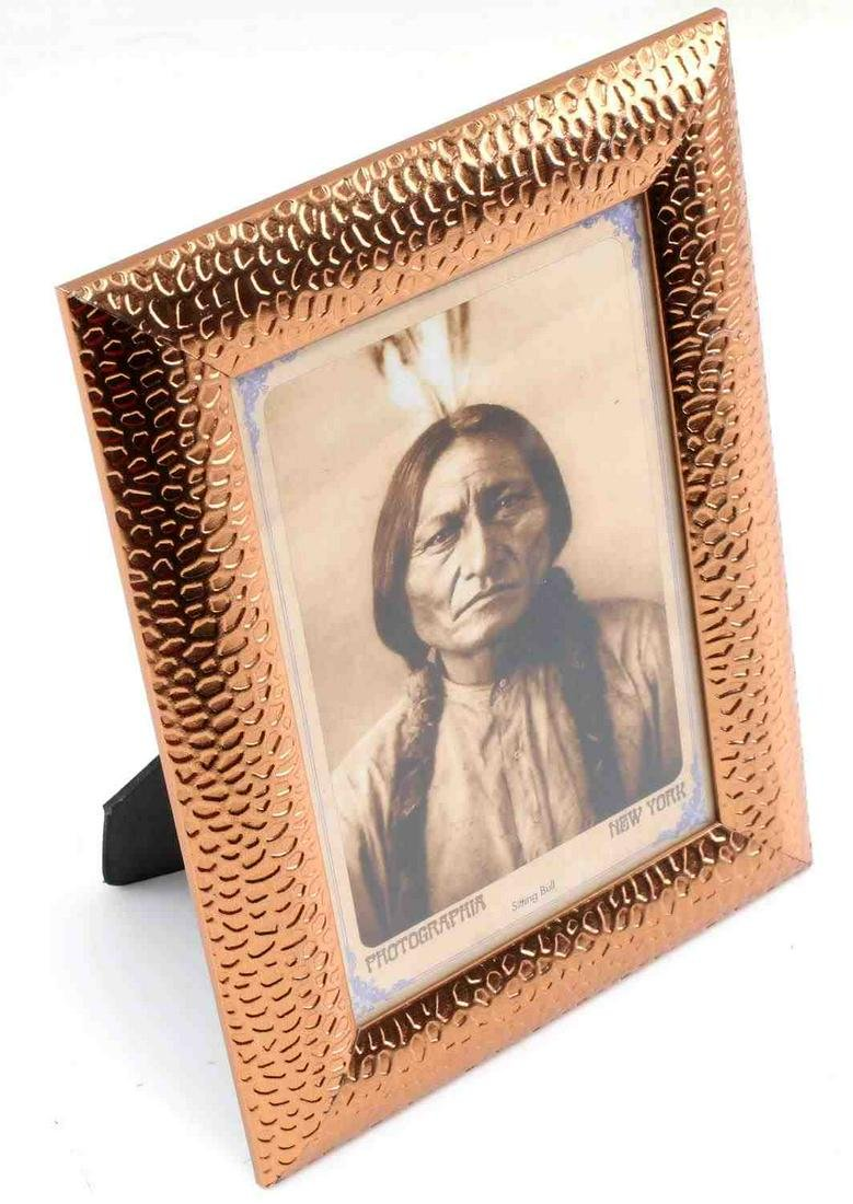 WILD WEST SITTING BULL INDIAN CHIEF POST CARD