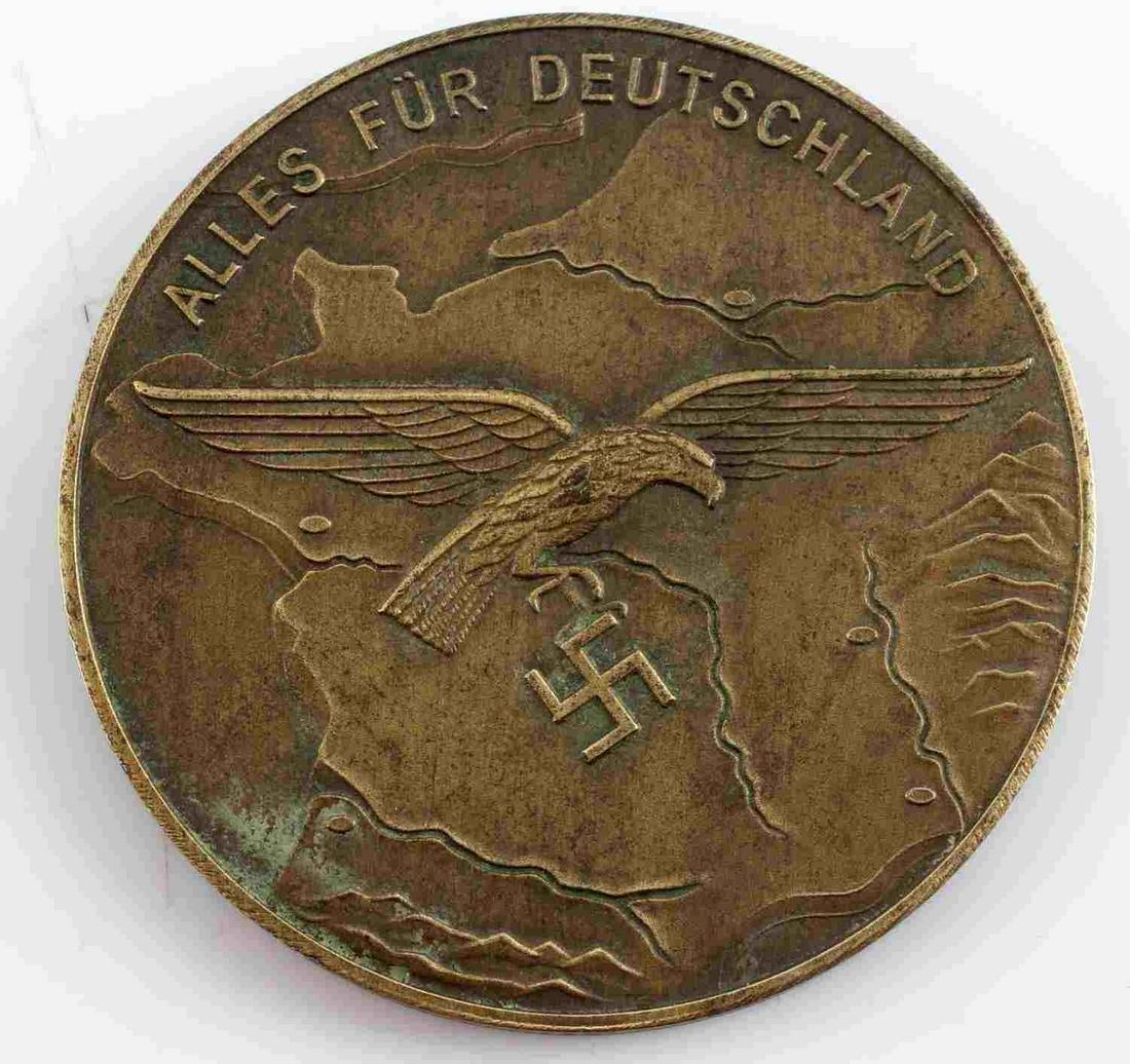 WWII THIRD REICH GERMAN LUFTWAFFE TABLE AWARD