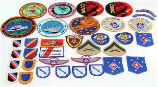 WWII VIETNAM ARMY RANGER MULTI CONFLICT PATCH LOT