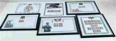 WWII THIRD REICH GERMANY ADOLF HITLER MNH STAMPS