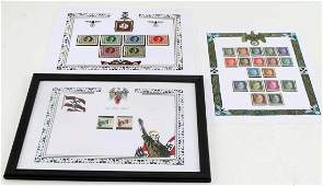 WWII THIRD REICH GERMAN HITLER BIRTHDAY MNH STAMPS