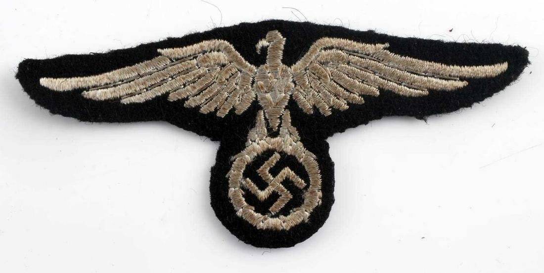 WWII GERMAN 3RD REICH 1ST PATTERN SS SLEEVE EAGLE