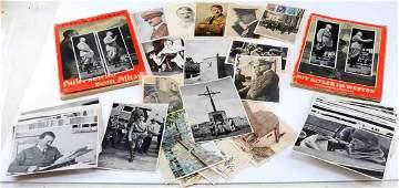 WWII THIRD REICH GERMAN HITLER TOBACCO CARDS PHOTO