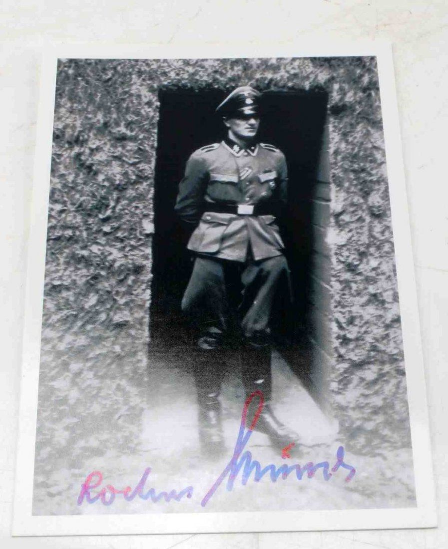 WWII GERMAN 3RD REICH HITLER BODYGUARD SIGNATURE