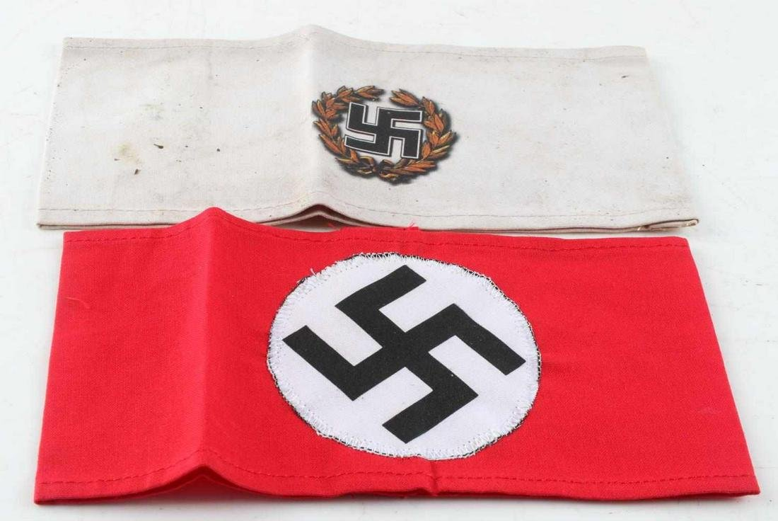 WWII GERMAN THIRD REICH NSDAP PARTY ARMBAND LOT 2