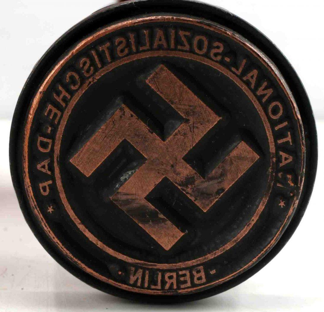 WWII GERMAN THIRD REICH NSDAP BERLIN HAND STAMP