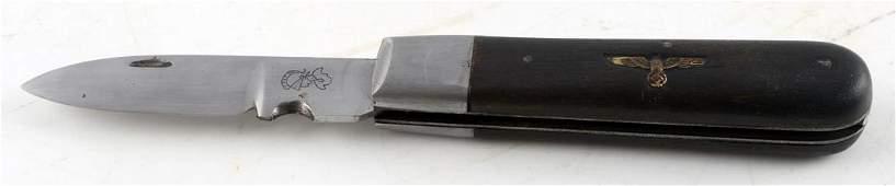 WWII GERMAN 3RD REICH NSDAP OFFICIAL POCKET KNIFE