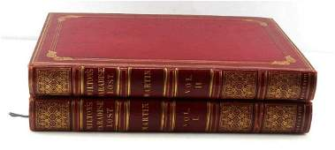 1827 EDITION PARADISE LOST TWO VOLUMES WITH PRINTS