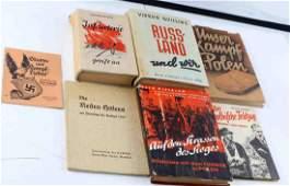 WWII GERMAN THIRD REICH PROPAGANDA BOOK LOT ROMMEL