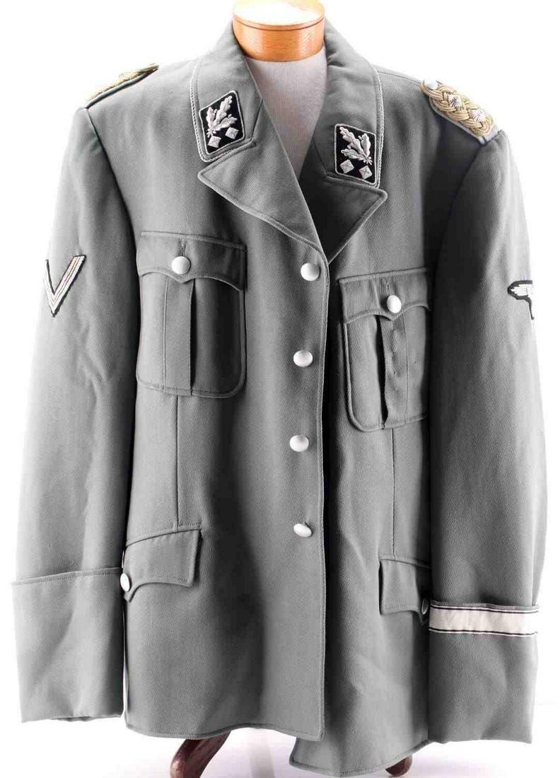 WWII GERMAN 3RD REICH SS LIEUTENANT GENERAL JACKET