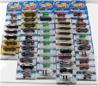 LOT OF APPROX. 50 SEALED HOT WHEELS 1998 EDITIONS