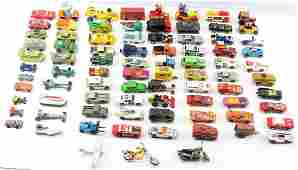 APPROX. 75 VINTAGE TOY CARS HOT WHEELS MATCHBOX