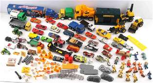 LOT OF 45 TOY CARS HOT WHEEL MATCHBOX EBO & MORE