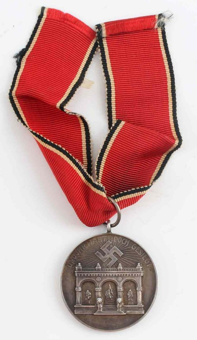 WWII GERMAN THIRD REICH NSDAP BLOOD ORDER MEDAL