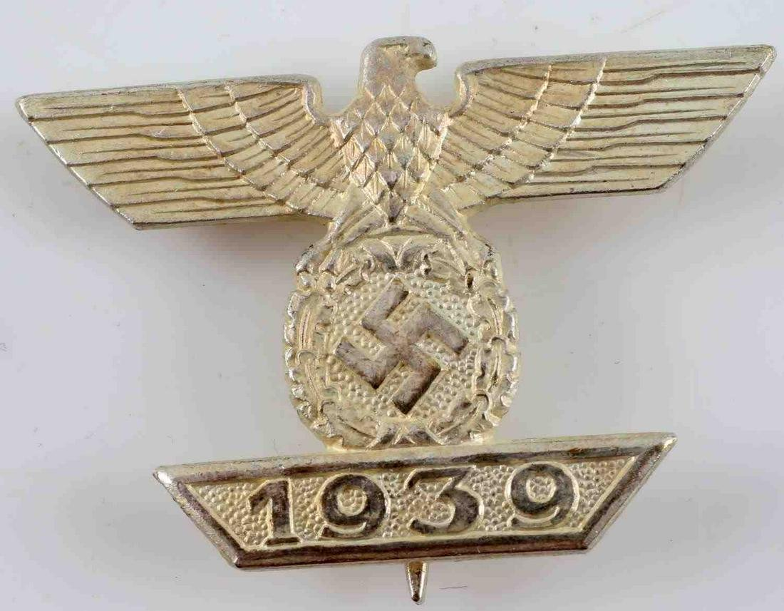 WW2 GERMAN 3RD REICH 1ST CLASS CLASP TO IRON CROSS